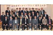 2012年 1月6日(金)例会  田中治会長・年度
